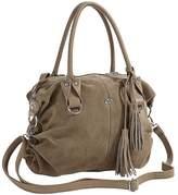 Collezione Alessandro Suede Shoulder Bag