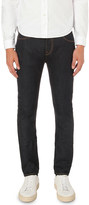 Burberry contrast stitching slim-fit tapered jeans
