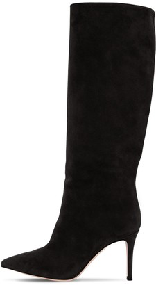 Gianvito Rossi 85mm Tall Suede Boots