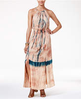 American Rag Juniors' Tie-Dyed Maxi Dress, Created for Macy's