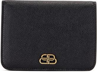 Balenciaga Medium Cash Wallet in Black | FWRD