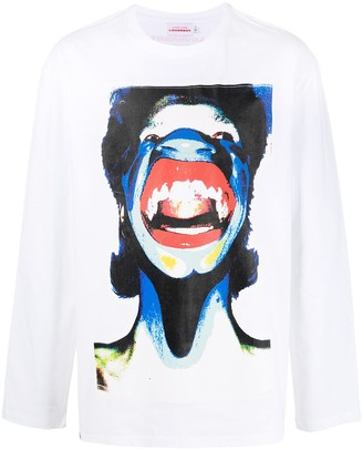 Charles Jeffrey Loverboy Graphic Print Long-Sleeve T-Shirt