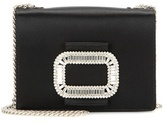 Roger Vivier Pilgrim Micro embellished shoulder bag