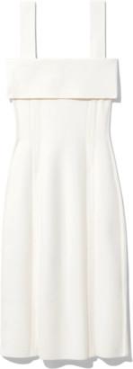 Proenza Schouler Compact Knit Tank Dress in Off White