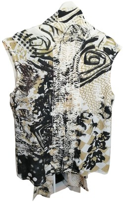 Adolfo Dominguez Beige Silk Top for Women