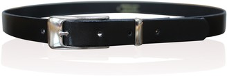 Zack Hunter Ladies Skinny Leather Belts Womens Girls Belts Chrome Keeper Made In England (Xx-Large