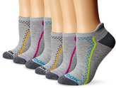 Reebok Women's Athletic Low-Cut Sock with Stitching 6-Pack