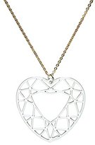 Girls' Best Friends Best Friends Heart Girls'Chain Brass-GPGHEARTrodio 51 cm-Silver