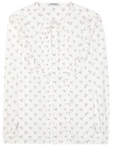 Miu Miu Printed Cotton Shirt