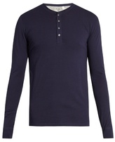 Paul Smith Henley cotton-jersey pyjama top