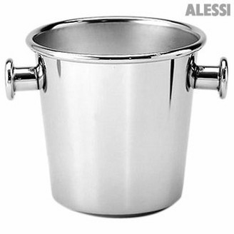 Alessi Stainless Steel Wine Cooler with Knobs