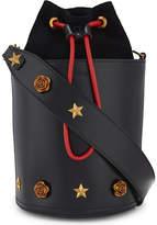 Mo&Co. Embellished leather bucket bag