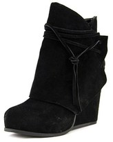 BCBGeneration Loralei Round Toe Suede Ankle Boot.