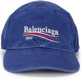 Balenciaga 2017 logo cap