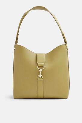 Topshop Olive Clip Hobo Bag