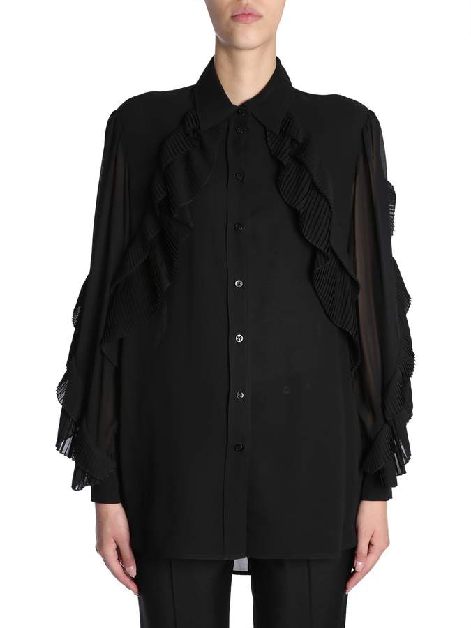 Givenchy Silk Georgette Shirt