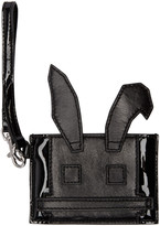 McQ by Alexander McQueen Black Electro Bunny Card Holder