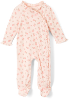 Baby Starters Pink Rose Footie - Infant
