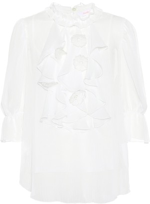 See by Chloe Ruffled blouse