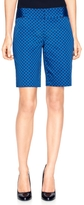 The Limited Ikat Dot Sateen Metro Shorts