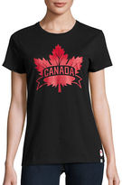 Canadian Olympic Team Collection Womens Core Maple Leaf T-Shirt