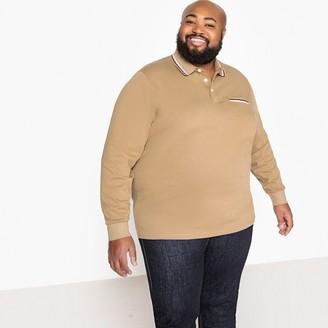 Castaluna Men'S Big & Tall Long-Sleeved Polo Shirt