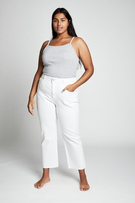 Cotton On Curve Straight Stretch High Rise Jean