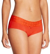 Gilligan & O'Malley Women's Cotton Lace Trim Hipster Panty - Gilligan and O'MalleyTM