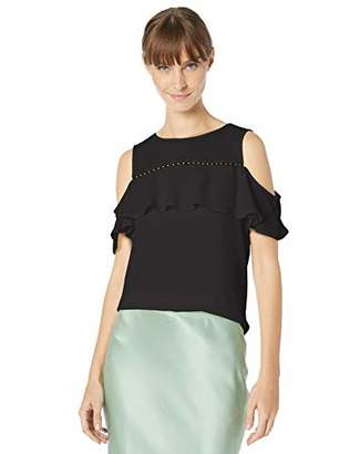 Calvin Klein Women's Cold Shoulder with Bead Detail