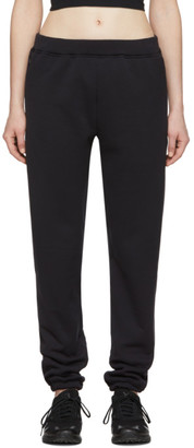 Wone Black Fleece Polartec Lounge Pants