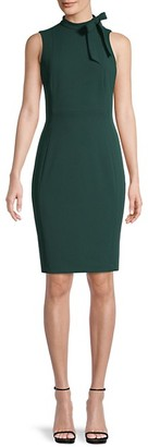 Calvin Klein Bow-Neck Sheath Dress