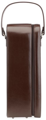 Royce New York Leather Wine Carrying Case