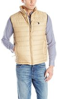 U.S. Polo Assn. Men's Small Channel-Quilt Puffer Vest
