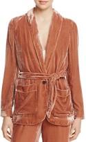 Joie Anasophia Velvet Jacket - 100% Exclusive
