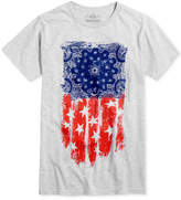 American Rag Men's Brush Flag T-Shirt, Created for Macy's