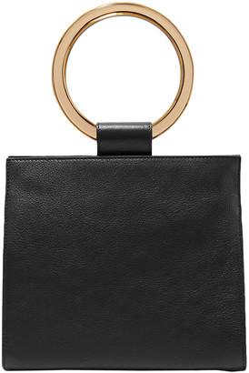 Edie Parker Textured-leather Shoulder Bag