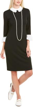 Karl Lagerfeld Paris Puritan Sheath Dress