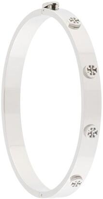 Tory Burch Hinge logo stud bracelet