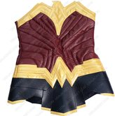 The Custom Jacket Wonder Diana Woman Prince Corset Gal Leather Gadot Vest Costume (XS, )