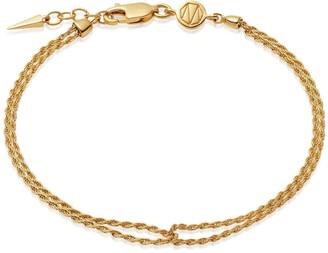 Missoma Gold Double Rope Bracelet