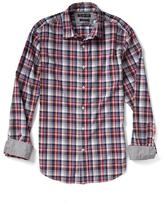 Banana Republic Camden-Fit Custom Wash Gingham Shirt