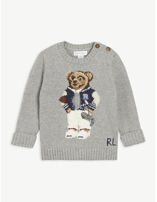 Ralph Lauren Polo Bear cotton jumper 3-24 months