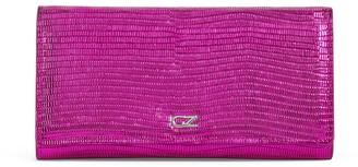 Giuseppe Zanotti Selene lizard-effect wallet