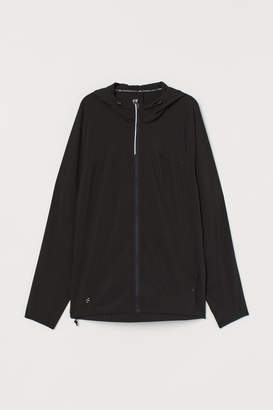 H&M Hooded running jacket