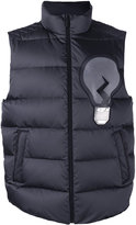 Fendi padded gilet jacket - men - Polyester/Feather/Duck Feathers - 52