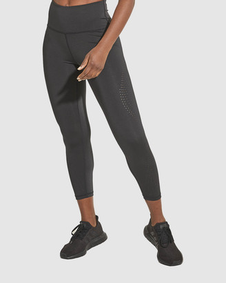 Dharma Bums - Women's Black Tights - Aura Laser 7-8 Leggings - Size One Size, XS at The Iconic