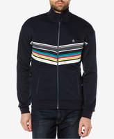 Original Penguin Men's Striped Slim-Fit Track Jacket