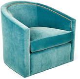 Kristin Drohan Collection Georgia Swivel Glider Chair - Calypso Velvet