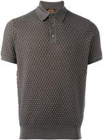 Tod's interlaced knitting polo shirt