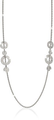 Rebecca R-ZERO Rhodium Over Bronze Necklace